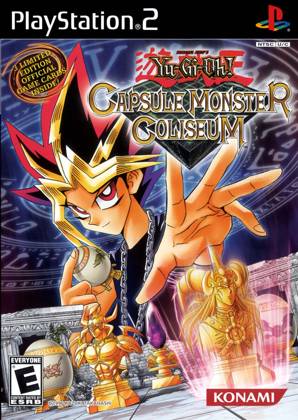 [PS2] Yu-Gi-Oh! Capsule Monster Coliseum ~ Hiero's ISO ...